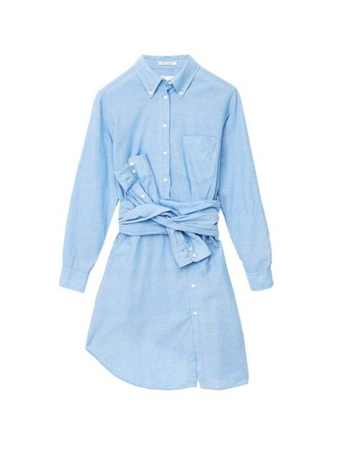 """<p>Gant Rugger's first womenswear collection is a corker; Fashion Assistant Charlie Gowans-Eglinton loves this shirt dress with a surreal twist.</p>  <p></p>  <p><a href=""""http://www.gant.co.uk/womens-dresses/blue-the-smille-dress/31407"""" target=""""_blank"""">G"""