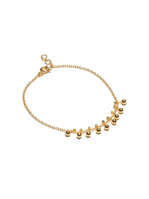 "<p>This delicate bracelet caught Accessories Editor Donna Wallace's eye. </p>  <p><a href=""http://www.stories.com/gb/Jewellery/Bracelets/Gold-Plated_Sterling_Silver_Bracelet/582804-102341775.1"" target=""_blank"">&Other Stories</a> bracelet, £39</p>"