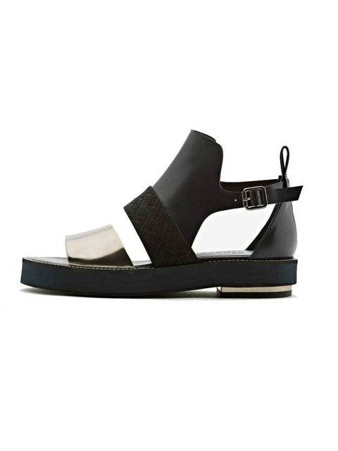 "<p>Leander sandal, £95, from <a href=""https://www.finerylondon.com/"" target=""_blank"">Finerylondon.com</a></p>  <p><a href=""http://www.hearstmagazines.co.uk/elle/VES10554"">Read all about Finery in the March issue of ELLE, out now.</a></p>"