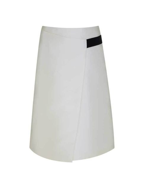 "<p>Rosslyn skirt, £45, from <a href=""https://www.finerylondon.com/"" target=""_blank"">Finerylondon.com</a></p>  <p><a href=""http://www.hearstmagazines.co.uk/elle/VES10554"">Read all about Finery in the March issue of ELLE, out now.</a></p>"