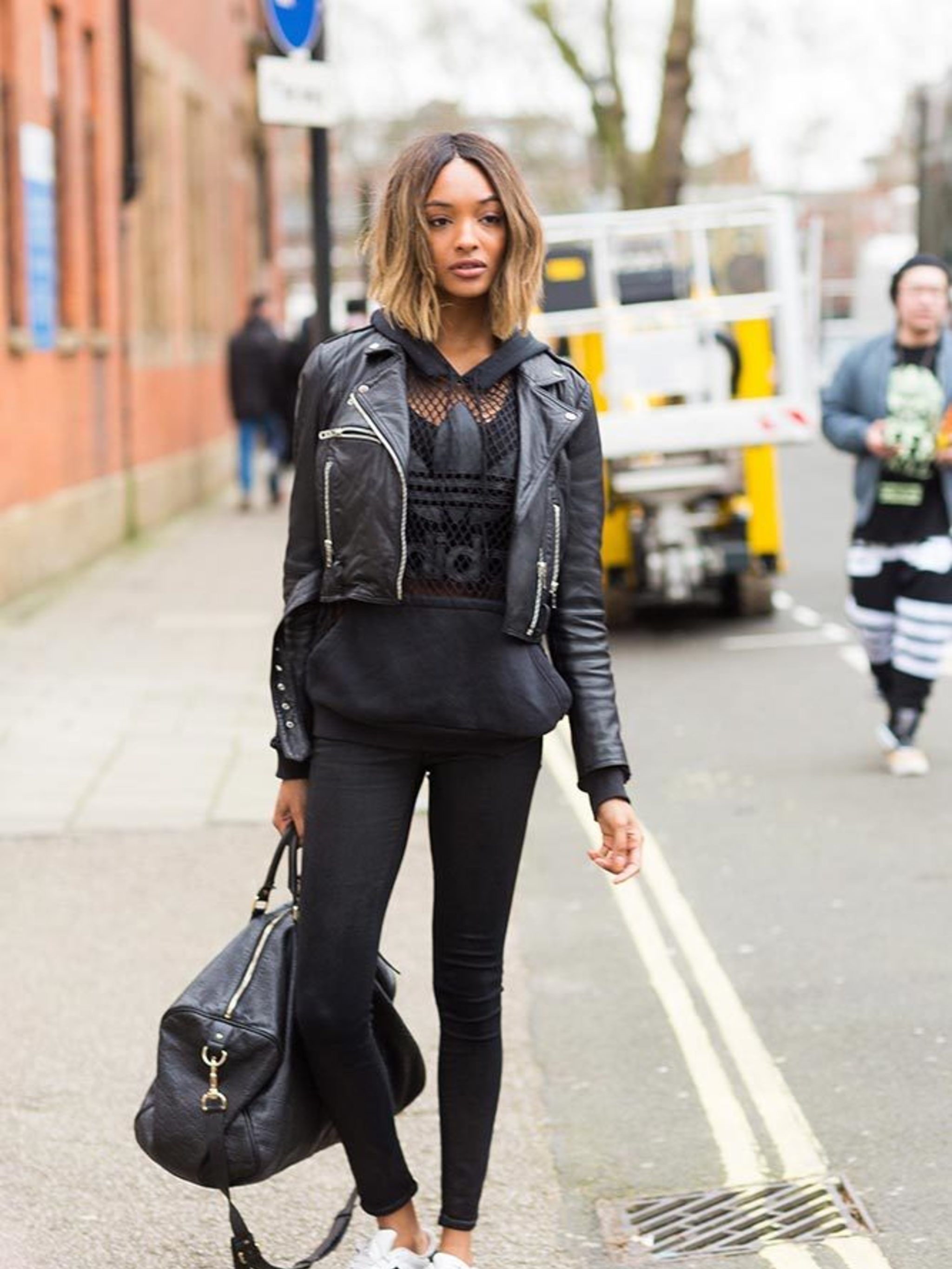 Image result for victoria secret models street style