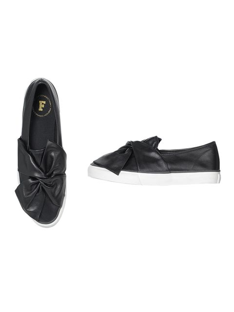 Leather shoes, £70, French Connection