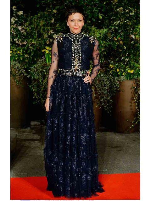 <p>Maggie Gyllenhaal wearing Lanvin.</p>