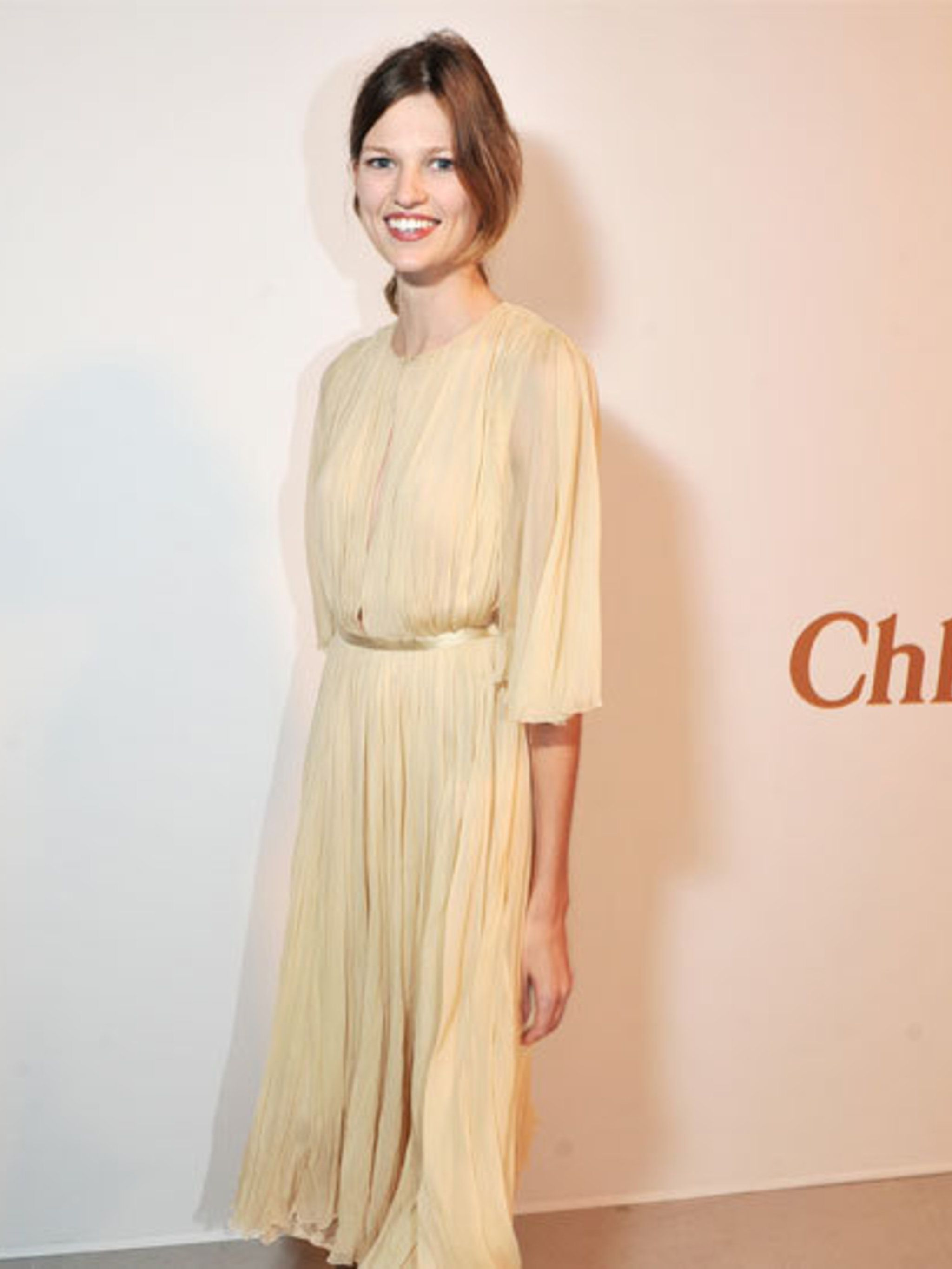 <p>Bette Franke at Chloé's 60th anniversary party at the Palais de Tokyo in Paris</p>