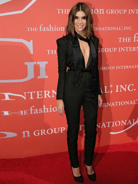 "<p>Media award winner <a href=""http://www.elleuk.com/fashion/news/carine-roitfeld-compares-kim-kardashian-marilyn-monroe"">Carine Roitfeld</a> attends the 30th Annual Night Of Stars presented by The Fashion Group International.</p><p><em><a href=""http://ww"