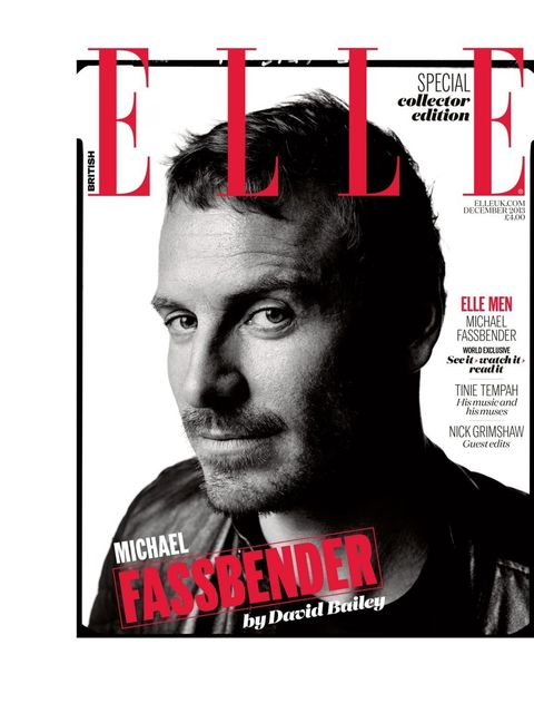 <p>Ever so hot and a little bit filthy.</p><p><em>The Michael Fassbender interview appears in the December 2013 issue of ELLE</em></p>