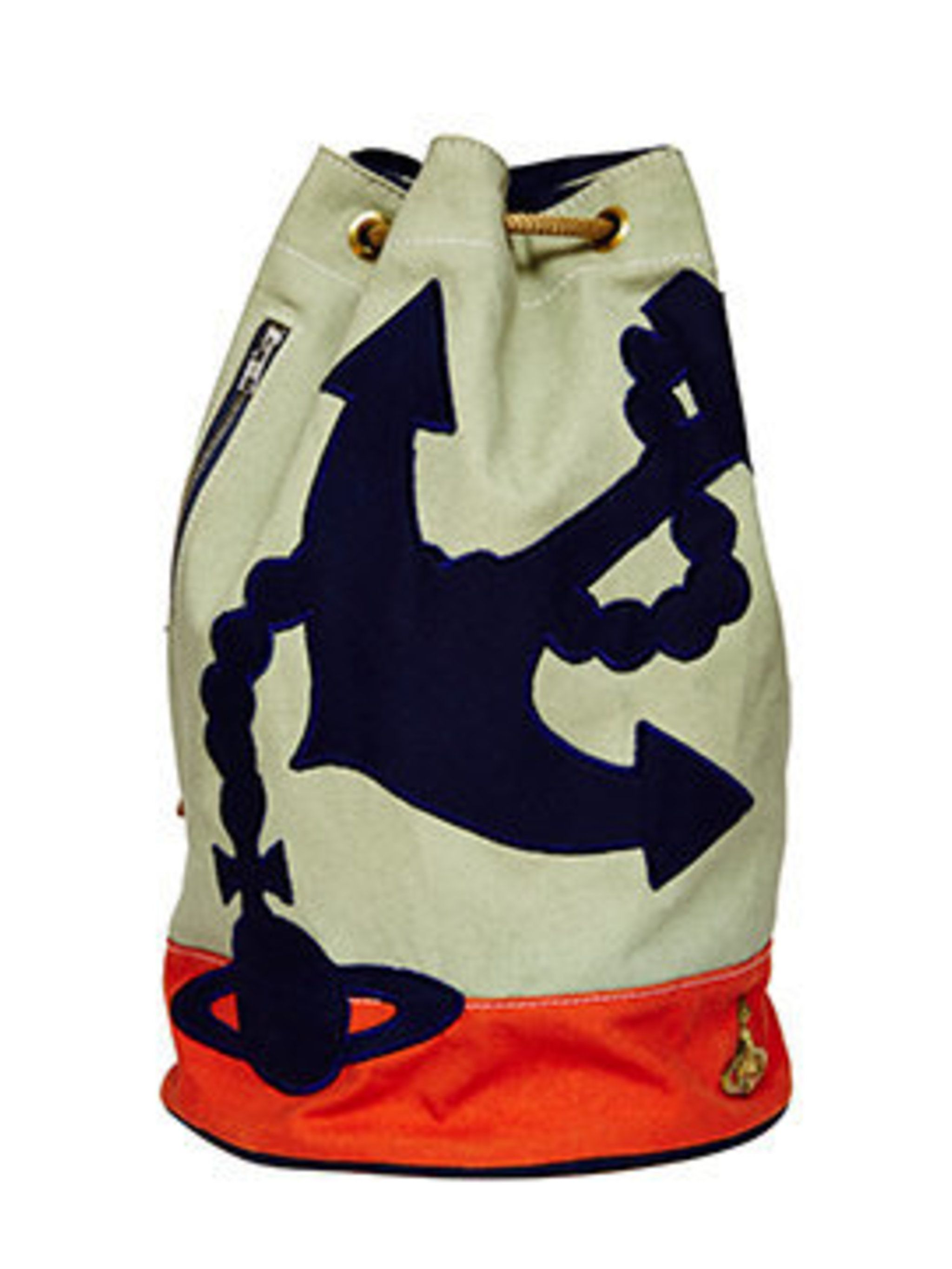 <p>Anchor Duffle Bag, £143 from the Vivienne Westwood Africa collection from ASOS</p>