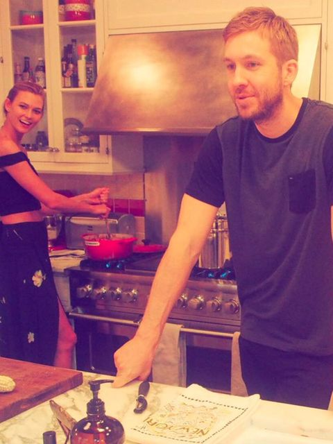 'Some of my best memories have been with this girl, laughing in the kitchen. Happy Birthday to the ray of light that is @karliekloss.'