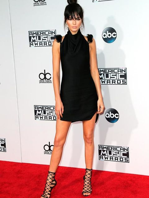 <p>Kendall Jenner at the American Music Awards in LA, November 2015</p>