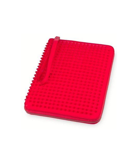 "<p><a href=""http://eu.christianlouboutin.com/uk_en/shop/accessories/cris-patent-2.html"">Christian Louboutin</a> iPad case, £550</p>"