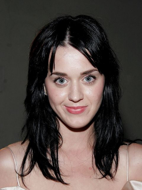 <p>Katy Perry back in 2007 with a soft fringe</p>