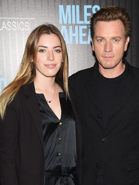 <p>Clara McGregor</p>  <p>Clara (a budding photographer), stepped out with dad Evan for a screening of Miles Ahead in New York, March 2016.</p>