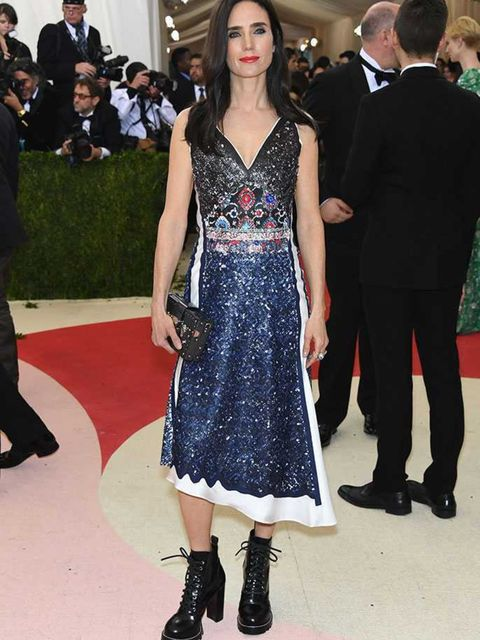 <p>Jennifer Connelly at the Met Gala in New York, May 2016.</p>
