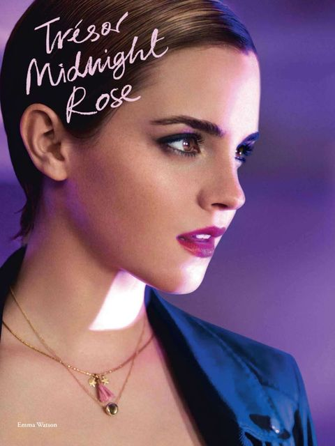 <p>Emma Watson in a Lancome ad</p>