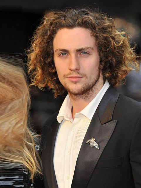 <p>Aaron Taylor Johnson. Channeling Beethoven?</p>