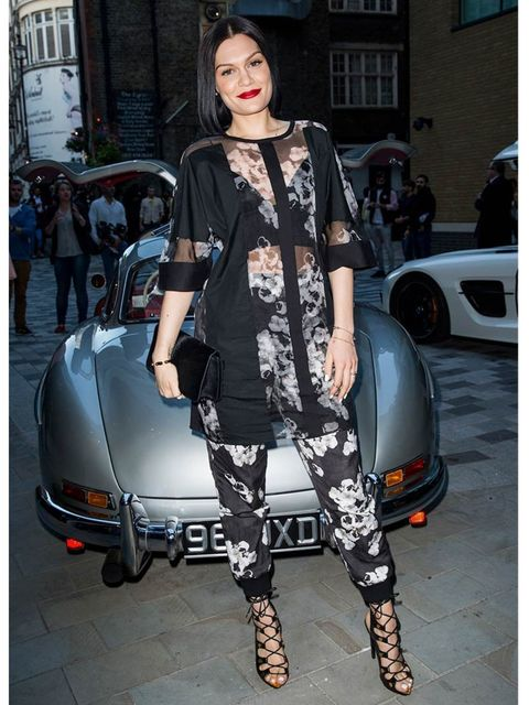 <p>Jessie J at the closing party for London Collections: Men.</p>