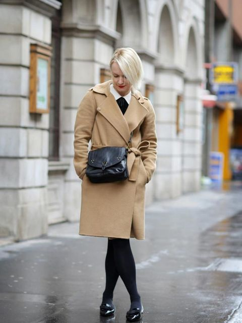 <p>Lorraine Candy, Editor-in-Chief</p>  <p>Joseph coat, Polo Ralph Lauren dress, Jimmy Choo shoes, Jerome Dreyfuss bag</p>