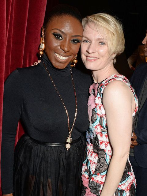 <p>Laura Mvula and Lorraine Candy attend the ELLE Style Awards after party.</p>