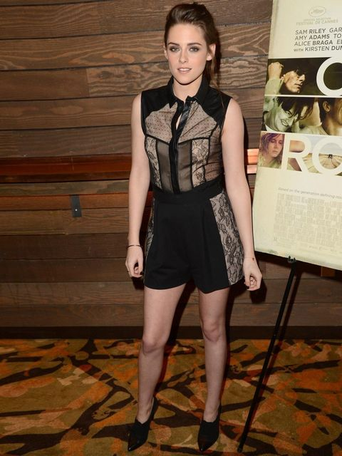 <p>Tomboy lace: Kristen Stewart in Jason Wu</p>