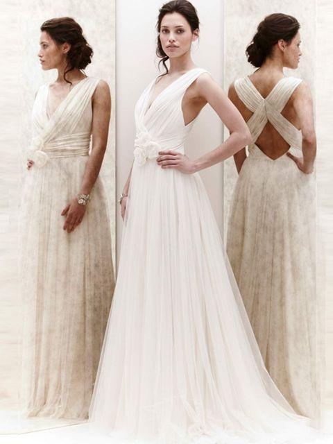 <p>Jenny Packham SS13 bridal</p>