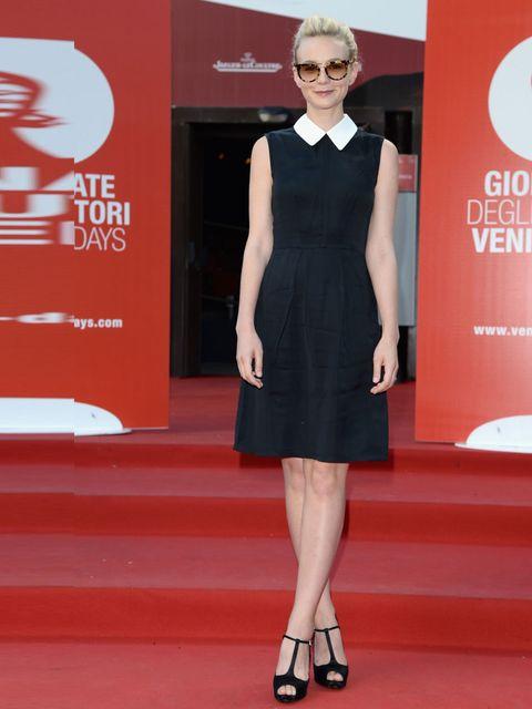 "<p><a href=""http://www.elleuk.com/star-style/celebrity-style-files/carey-mulligan-s-style-file"">Carey Mulligan</a> wore Miu Miu to attend the 'Miu Miu Women's Tale' premiere, 70th Venice International Film Festival, August 2013. </p>"