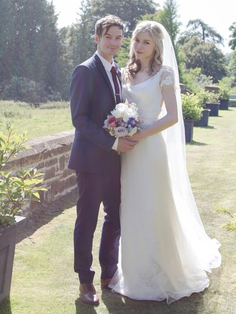 <p><strong>Patricia Campbell, ELLE Commercial Editor</strong><em>Lusan Mandongus for a Devon country house party wedding…</em></p><p><strong>The Dress</strong>'Shopping for the dress was easy as I had a clear idea of what I wanted: figure-skimming silk wi