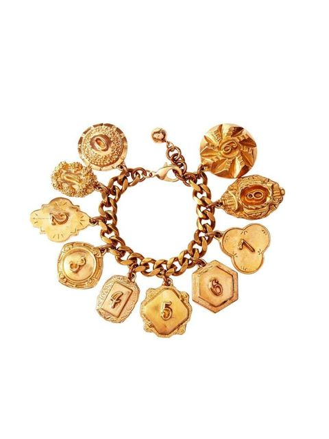 "<p>Add interest to pared-down summer dressing with this heirloom charm bracelet.</p><p>Lulu Frost bracelet, £430 at <a href=""http://www.net-a-porter.com/product/409941"">Net-A-Porter</a></p>"