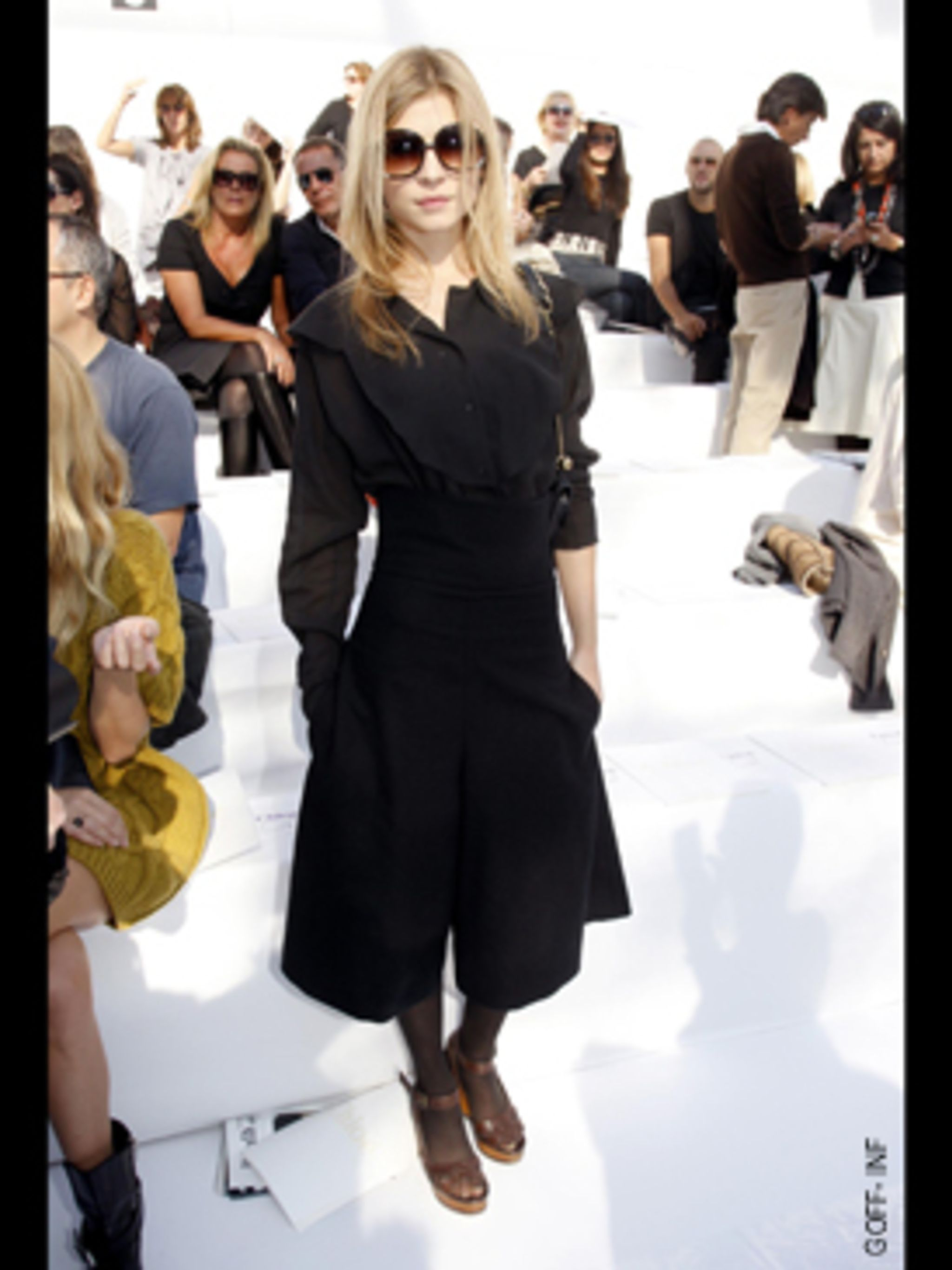 <p>She's the French girl who beat off every young British actress to play Fluer in Harry Potter and the Goblet of Fire. Her next role is to star alongside Anja Rubik and Chloe Sevigny in the ad campaign for design house Chloe's first scent. She's the next