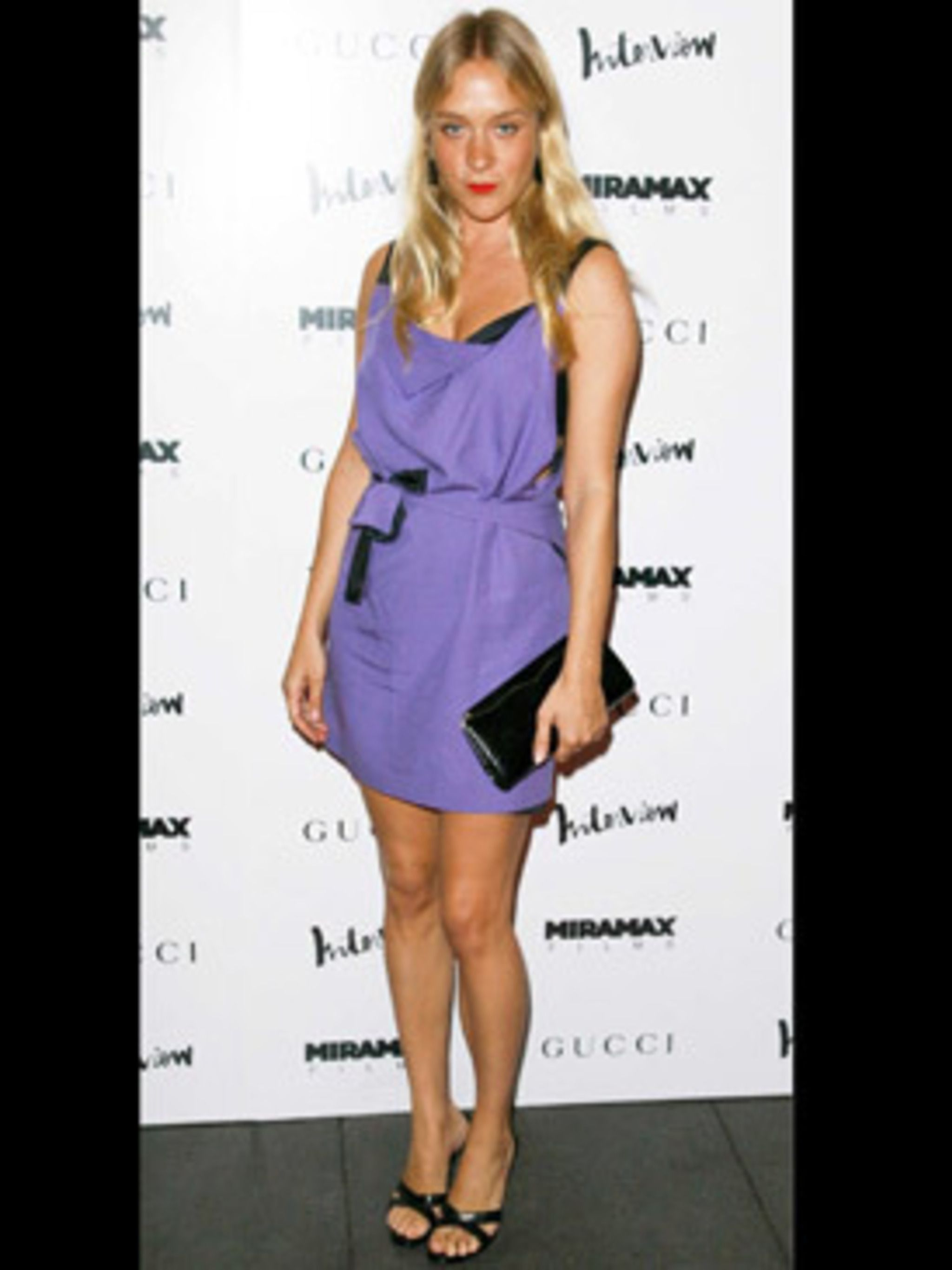 <p>Chloe channels next season now with this so spring shade of lilac.</p>