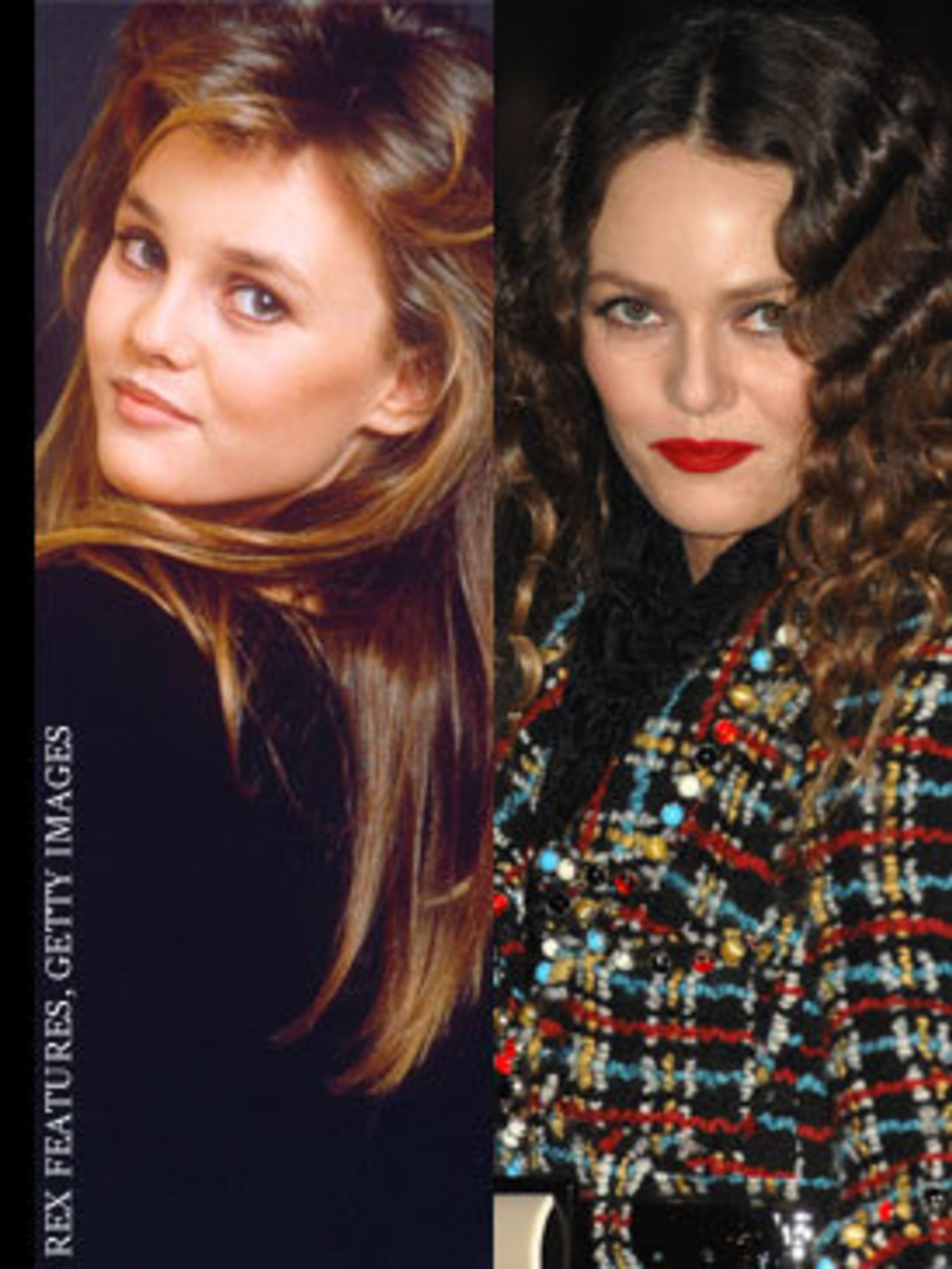 <p>Vanessa secured the position of muse to Chanel's Karl Largerfeld      <em>after</em> she ditched that eighties mullet cut</p>