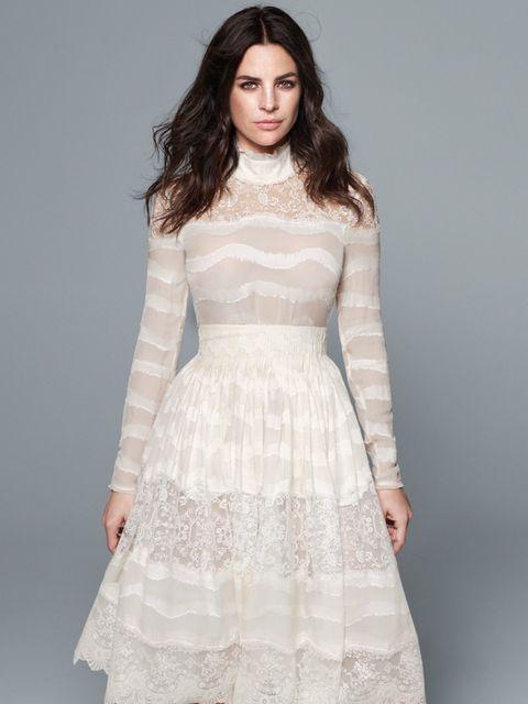 <p>Top, £49.99; Skirt, £119.99</p>