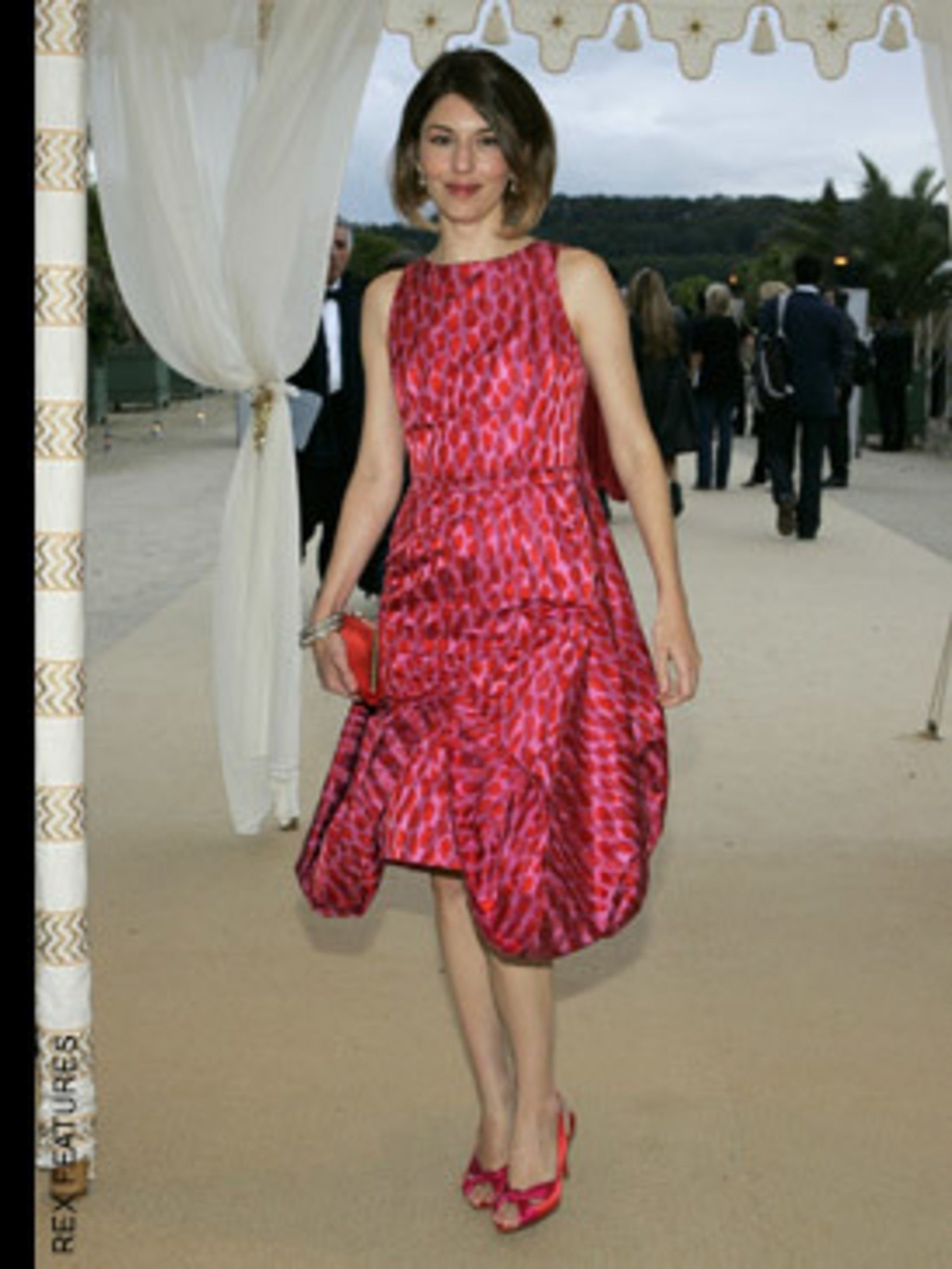 <p>Just as well know for her fashion credentials as her directorial chops, Sofia Coppola is friends with all the right designers. (Marc Jacobs is one of her best). She shone in this Dior Couture at Couture in Paris in January.</p>