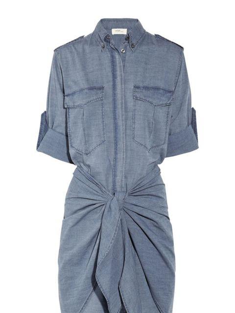"<p>Étoile Isabel Marant chambray shirt dress, £245, at <a href=""http://www.net-a-porter.com/product/164279"">Net-a-Porter</a></p>"