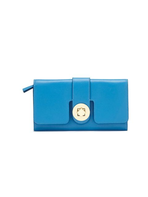 <p>It's time to upgrade your purse. Whistles is just about to launch its new premium leather range and the poppy hues are simply the chicest way you carry your coins… Whistles blue 'Marianne' leather purse, £95, for stockists call 0845 899 1222</p>