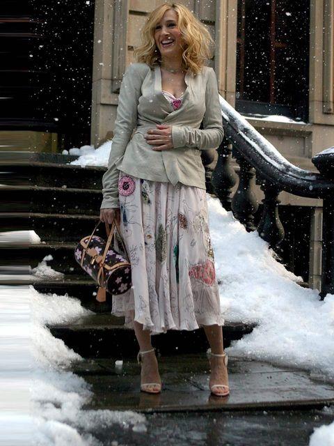 Sarah Jessica Parker In Dolce & Gabbana Alta Moda - 2018