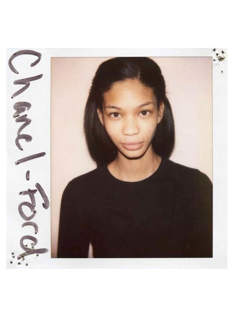 <p>Chanel Iman</p>