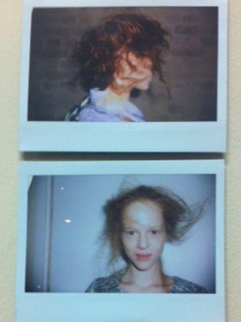 <p>'It's energetic hair,' said Lyndell Mansfield.</p>