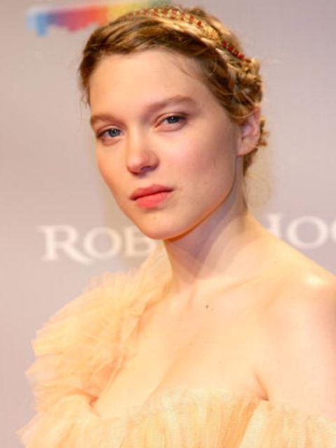 <p>Looking suitably whimsical and fairytale-esque at the Robin Hood after party in Cannes, May 2010</p>