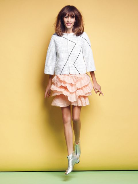 <p>Alexa Chung in a Chanel S/S '12 look in the March 2012 issue.</p>