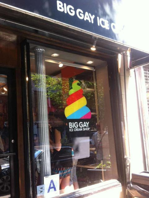 "<p>A favourite with Marc Jacobs (one of his #MJHONEYSPOTS) - Big Gay Ice Cream sells the most delicious soft-serve ice cream with incredibly unusual toppings like olive oil & sea salt and key lime curd.</p><p><a href=""http://biggayicecream.com/"">Big G"