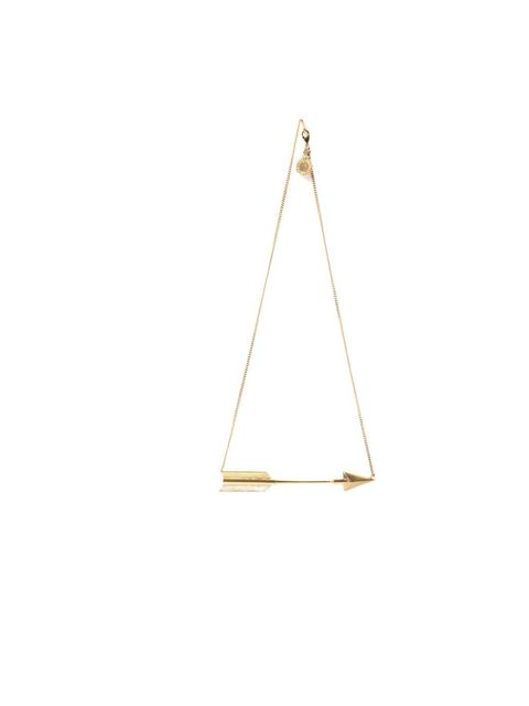 """<p>Stella McCartney arrow necklace, £250, at <a href=""""http://www.matchesfashion.com/product/127530"""">Matches Fashion</a></p>"""