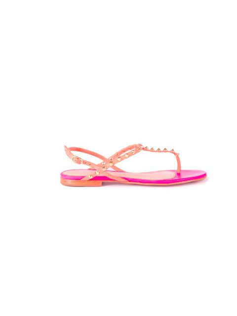 "<p>Be quick, Kurt Geiger's new capsule collection of hero sandals in pastels and clashing neons is only available for one week... KG 'Elena' studded sandals, £110, at <a href=""http://www.kurtgeiger.com/elena-18.html"">Kurt Geiger</a></p>"