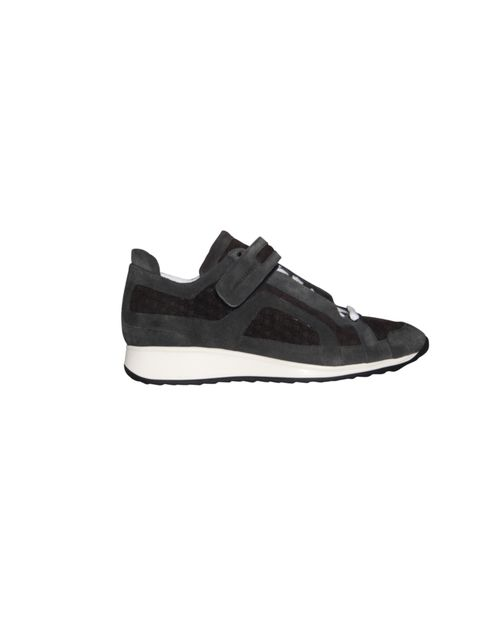 "<p><a href=""http://www.pierrehardy.com/"">Pierre Hardy</a> black suede trainers, £280</p>"