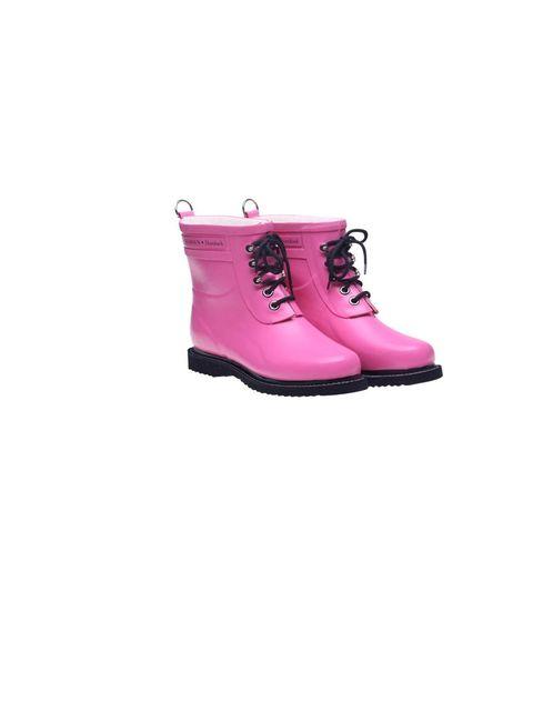"<p>Ilse Jacobsen 'Rub' wellies, £95, at <a href=""http://www.coggles.com/item/Ilse-Jacobsen/Rub-2-Pink-Boots/AONQ"">Coggles.com</a></p>"