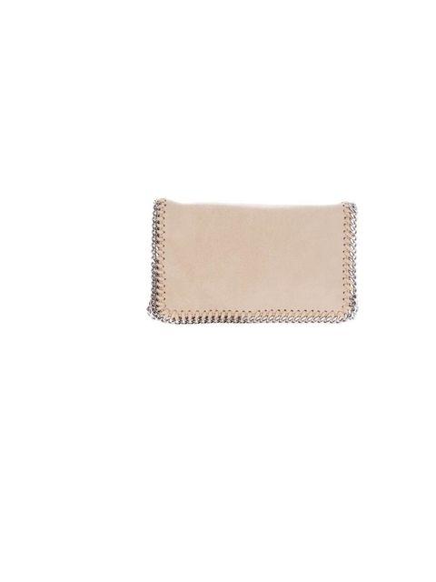 """<p>Stella McCartney 'Falabella' clutch, £439, at <a href=""""http://www.farfetch.com/shopping/women/stella-mccartney-chain-trimmed-clutch-item-10217877.aspx"""">Farfetch</a></p>"""