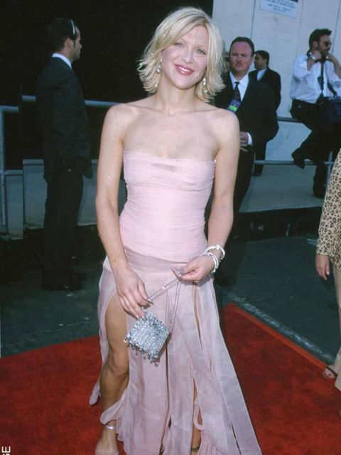 <p>Courtney Love at the 12th MTV Music Video Awards</p>