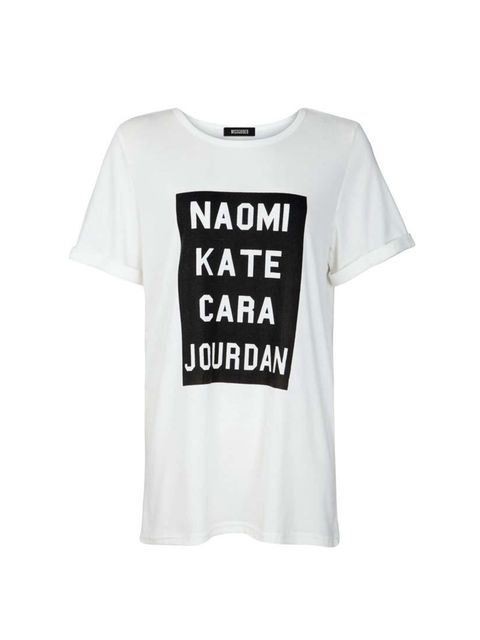 """<p>Jourdan Dunn has been <a href=""""http://www.elleuk.com/fashion/celebrity-style/london-fashion-week-spring-summer-2015-front-row#image=10"""" target=""""_blank"""">spotted out in this tee</a> - soDigital Director Phebe Hunnicutt is in good company.</p><p></p>"""