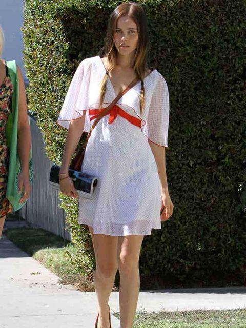 <p>Isabel Lucas in Los Feliz, California. December 2010</p>