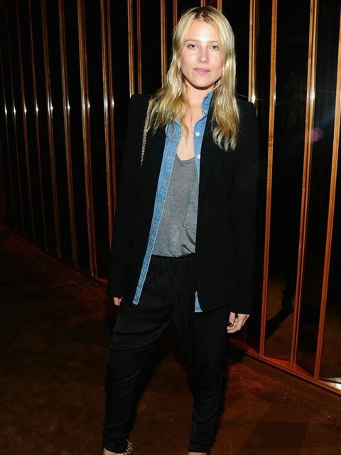 "<p>Dree Hemingway &amp; <a href=""http://www.elleuk.com/catwalk/collections/calvin-klein-collection/autumn-winter-2011/review"">Calvin Klein</a>'s Italo Zucchelli at The Met Ball, 2 May 2011 in New York.</p>"