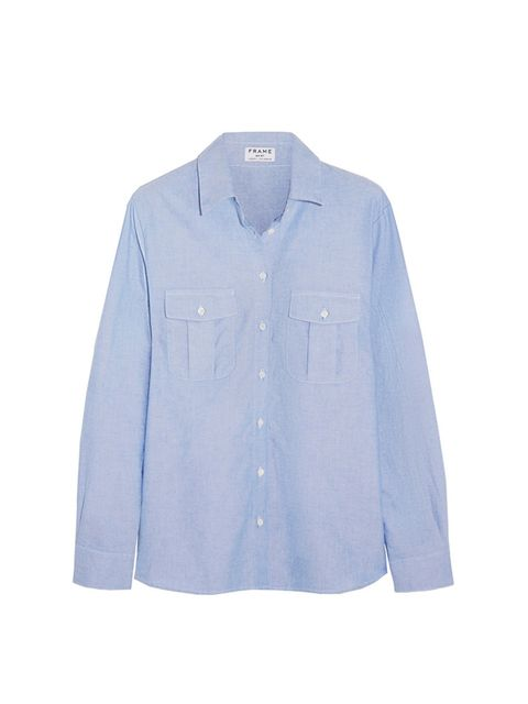 "<p><a href=""http://http://www.net-a-porter.com/gb/en/product/473864"" target=""_blank"">Frame</a> denim shirt, £180 available at <a href=""http://http://www.net-a-porter.com/gb/en/product/473864"" target=""_blank"">net-a-porter.com</a></p>"